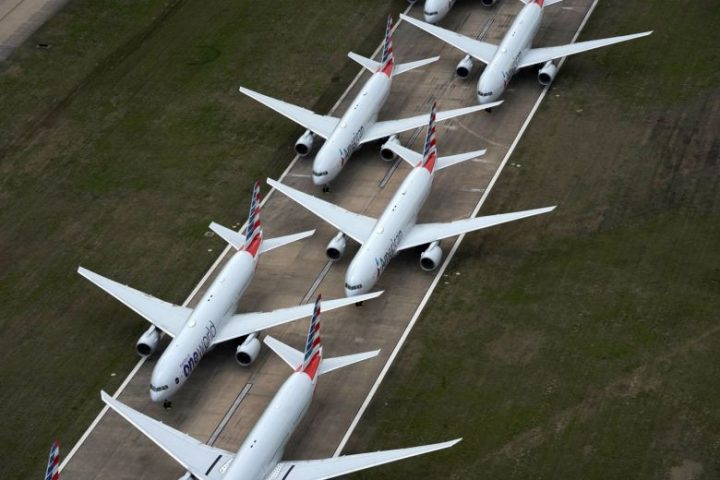 Storing all those unused aircraft