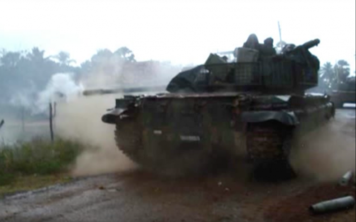 Combat in the T-55 MBT